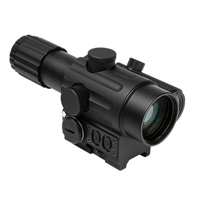 vdvo434dgblh DUO 4X34mm with Offset Green Dot - LEFT Hand