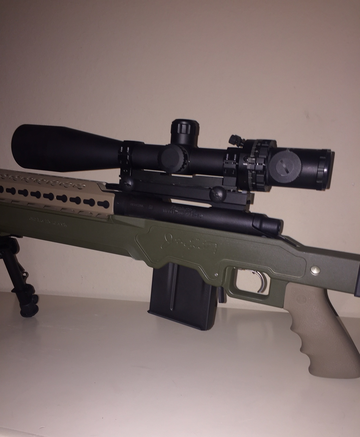 Remington 700 Tactical Chassis Jms Makes You Range Ready Remington870partsdiagram The Butt Plate Rests Against Shooters Jtac Thunder System