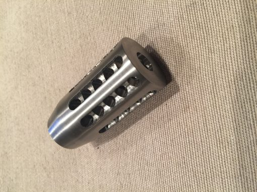 30 Cal Straight Fluted Muzzle Brake
