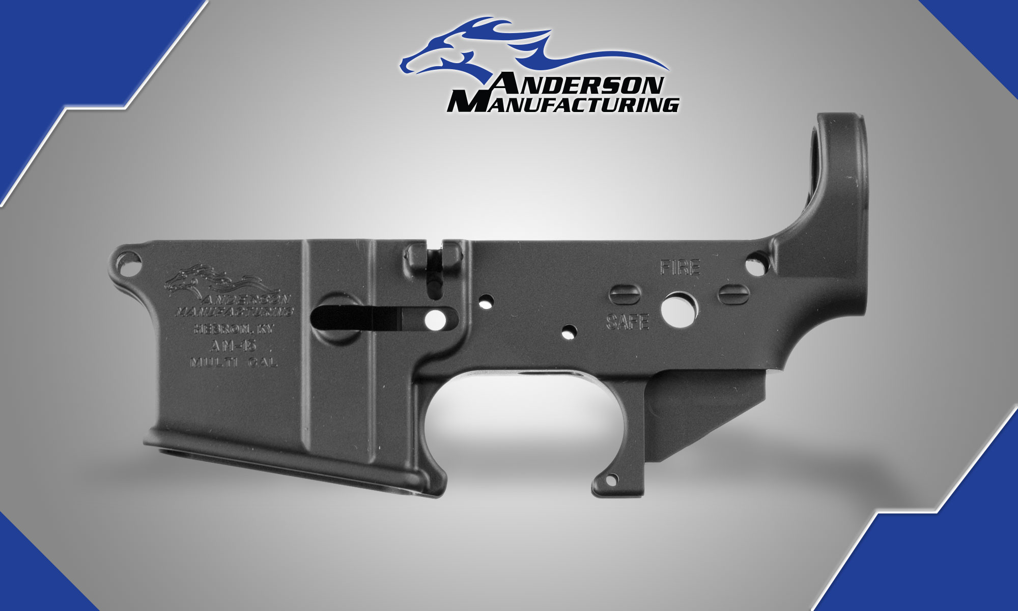 Anderson AR 15 Stripped Lower