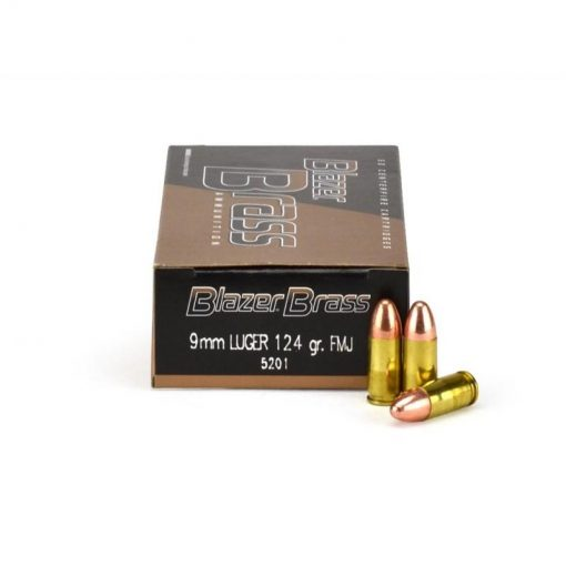 9mm Luger 124 Grain Full Metal Jacket