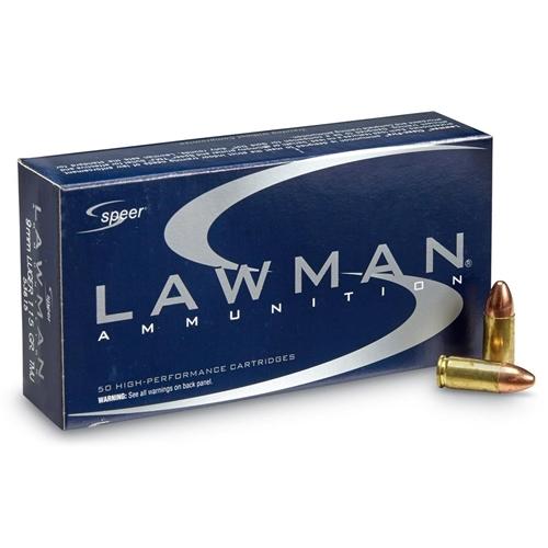 Speer Lawman 115 Grain 9MM FMJ
